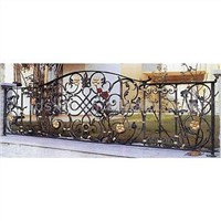 Iron craft furniture garden fence