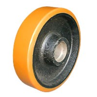 polyurethane wheels with cast iron