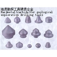 carbide for geological exploration drilling tools
