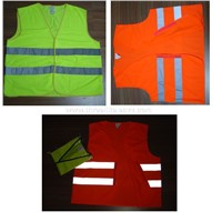 Reflective vests (Safety vests)
