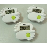 Sole-shape Step Counter with Different Colors TX5028