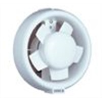 Window mounted round or square ventilating Fan
