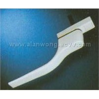 PVC window and aluminum window use handle