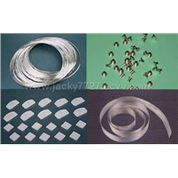 Electrical contact,silver wire,sheetstripbimetal rivet,composite rivet etc