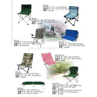 Folding chairs and tables (2)