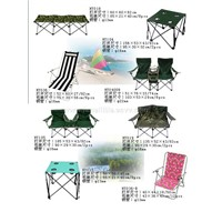 Folding chairs and tables (3)