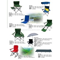 Folding chairs and tables (5)