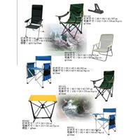 Folding chairs and tables (6)