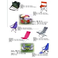 Folding chairs and tables (8)