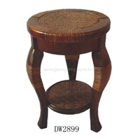 Wooden and Rattan Chair(Furnitures,Crafts)