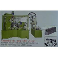 8-station rotary type drilling, boring, tapping machine