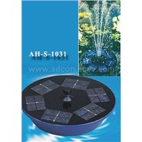 solar fountain for pond and swimming pool AH-S-1031