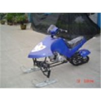 110CC Snowmobile with CE (S-110 Single-cylinder Air-Cooled 4-strokes)
