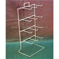 White Coated Wire Counter Top Rack