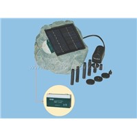 Solarkey SP007 Solar Rock Battery Pump Kit (With Solar Panel)