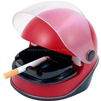 Helmet Shape Smokeless Ashtray