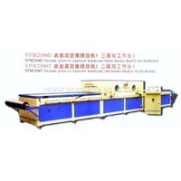 Vacuum laminating machines