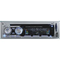 Car DVD Player with 4*50W Amplifier;FM Radio;Detachable Panel;USB and SD Card Connector;MP4 Functi