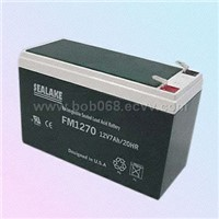 FM1270 7.0Ah Nominal Capacity Rechargeable Sealed Lead-Acid Battery