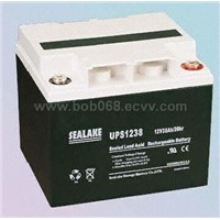 UPS1238 12V38Ah Nominal Capacity Rechargeable Sealed Lead-Acid Battery for Worldwide Export