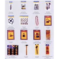 45 - door guard, tire repair kit