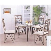 Metal Dining Set of 5 pcs