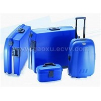 PP suitcase & trolley case 4pcs set
