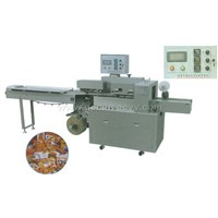 High speed and automatic pillow packing machine