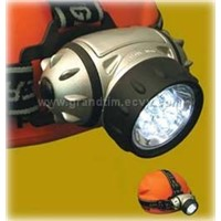 7LED headlamp