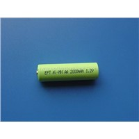 AA 2000mAh Ni-MH rechargeable battery