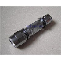 Aluminum Alloy LED Flashlight / Torch