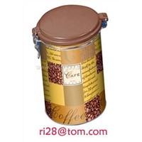 Tin Tea Box-Round