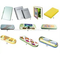 Tin Stationery Box-Pencil Box