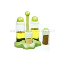 CONDIMENT SET OF 4