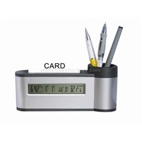 Nameplate & Pen Holders and Calendar