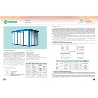 YB Type Preassemble Electric Substation