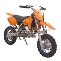 Dirt Bike (GAS-114) (Water cooled engine; front and rear disc breaks)