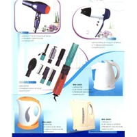Hair dryers and electric kettle