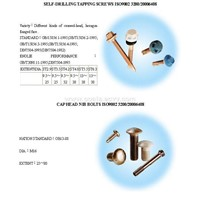 Tapping Screw & Bolt