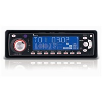 Car CD/MP3/WMA Player with motorize slide-down panel