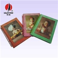 Notebook with Hard Cover and Spiral Series 03