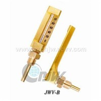 V-FORM JWV-Outside-Scale Industrial Glass Thermometer