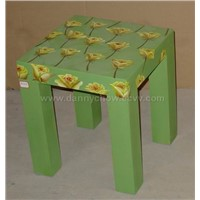 Wooden Decorative Chair(Stool)