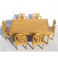 wooded dining sets