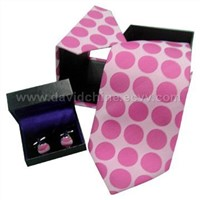Necktie and Cufflink in Gift Box