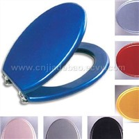 MDF toilet seat --- Colour wood painting