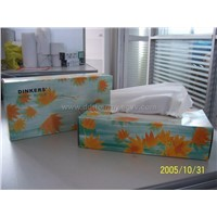 Soft Dinkers Facial Tissue Box