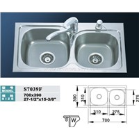 Stainless Steel Sink (S7039F)