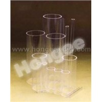 Transparent Quartz Glass Tube/Rod (Continuous Melting)