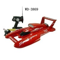 Remote Control Speed Boat W/ Battery